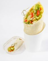 Curry-Gemuese-Wrap