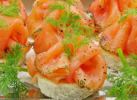 Graved-Lachs-Canape